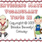 Envisions Grade 3 Topic 12 Vocabulary