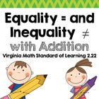 Equality and Inequality with Addition