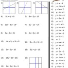 Equations of Parallel Lines Worksheet