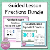 Equivalent Fractions, Adding Fractions PPT Lesson Bundle