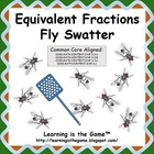 Equivalent Fractions Fly Swatter