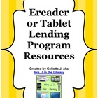 Ereader or Tablet Lending Program Resources