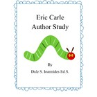 Eric Carle 6 Day Author Study Unit