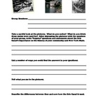 Erie Canal Activity Worksheets