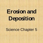 Erosion and Deposition vocabulary