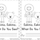 Eskimo, Eskimo, What Do You See Emergent Reader
