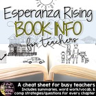 Esperanza Rising Book Info Sheet