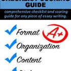Essay Checklist & Scoring Guide