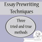 Essay Prewriting Techniques