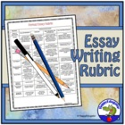 Essay Rubric - for a Formal Essay