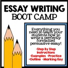 Essay Writing Boot Camp: Step By Step Guide to Persuasive
