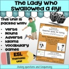 Essential Eating Verbs-Advanced- Grammar Unit and Lesson Plans