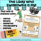 Essential Eating Verbs-Beginning - Grammar Unit and Lesson Plans