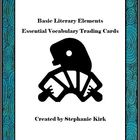 Essential Vocabulary Trading Cards Activity Bundle: Story