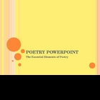 Essentials of Poetry Powerpoint 21 slides