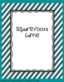 Estimating square roots game