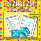 Estimation Dice Game