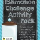 Estimation Jar Challenge Pack ~ Designed for Intermediate