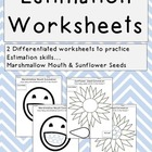 Estimation Worksheets