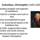 European Explorers Powerpoint