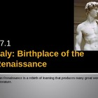 European Renaissance PowerPoint, Activators, Activities.