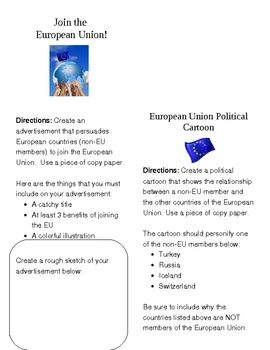 European Union Activities