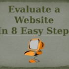 Evaluate a Website in 8 Easy Steps PowerPoint