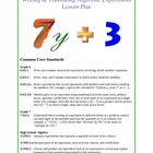 Evaluating, Translating, &amp; Simplifying Expressions Unit Plan