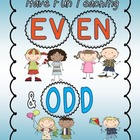 Even and Odd An Engaging and Fun Math Unit (Even and Odd A