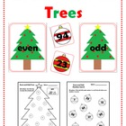 Even and Odd Trees - Christmas Math