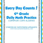 Every Day Counts! Daily Math Practice
