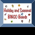 Every Holiday and Season BINGO Boards Set