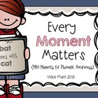 Every Moment Matters {Mini Phonemic Awareness Moments}