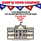 Every Vote Counts!  Election Day Packet Guided Reading Soc