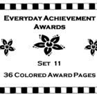 Everyday Achievement Awards - Set 11