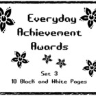 Everyday Achievement Awards - Set 3