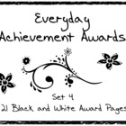 Everyday Achievement Awards - Set 4