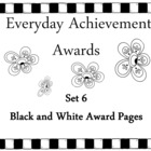 Everyday Achievement Awards - Set 6