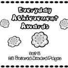 Everyday Achievement Awards - Set 8