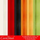 Everyday Colors 1 A4 size Card Stock Digital Papers