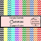 Everyday Essentials: Chevron Digital Paper Pack