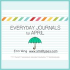 Everyday Journals for April
