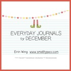 Everyday Journals for December