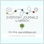 Everyday Journals for March