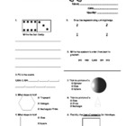 Everyday Math 2nd Grade Study Guide - Unit 5