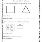 Everyday Math 2nd Grade Unit 10 Review