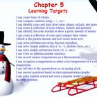 Everyday Math Chapter 5  Activboard Lesson
