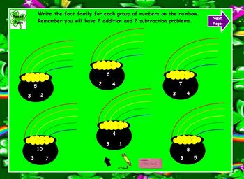 Everyday Math Chapter 8 First Grade  Activboard Lesson