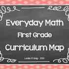 Everyday Math Curriculum Map for First Grade
