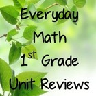 Everyday Math First Grade Unit Review or Homework Printables